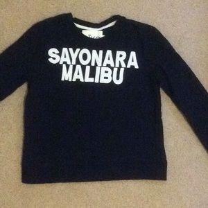 Aiko Black Sweater Sweatshirt Sz XS